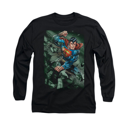Image for Superman Long Sleeve Shirt - Indestructible