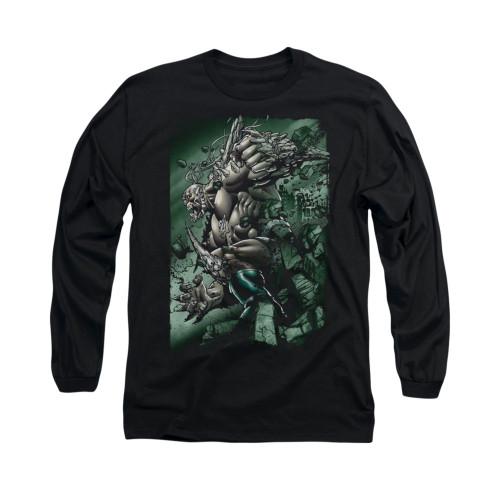 Image for Superman Long Sleeve Shirt - Doomsday Destruction