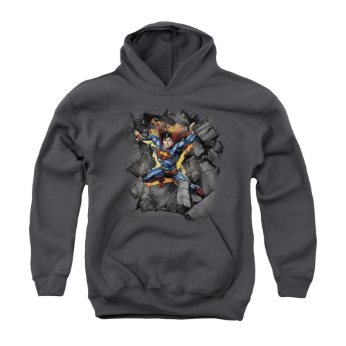 Image for Superman Youth Hoodie - Break On Through