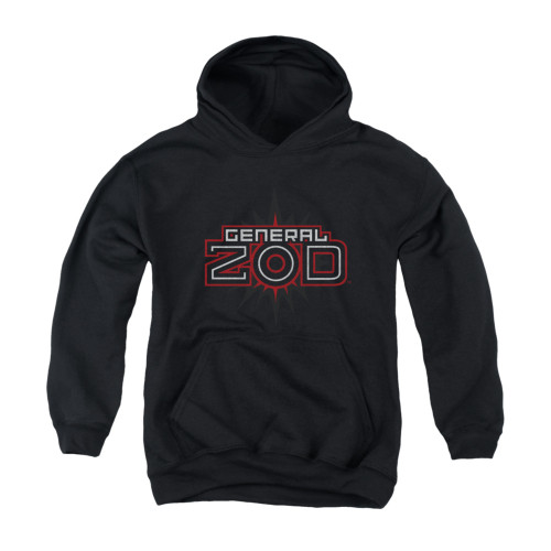 Image for Superman Youth Hoodie - Zod Logo