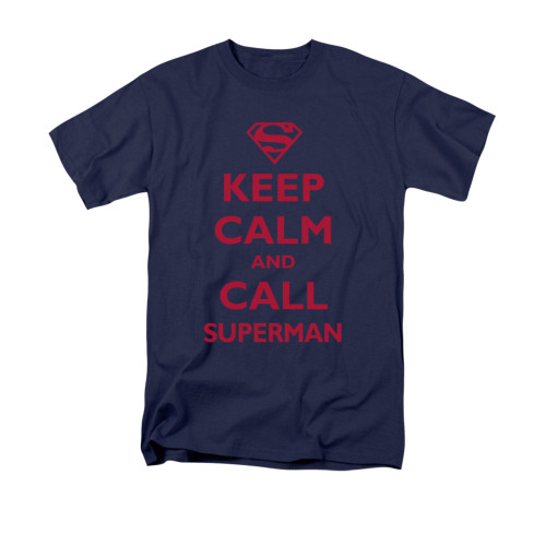 Image for Superman T-Shirt - Call Superman