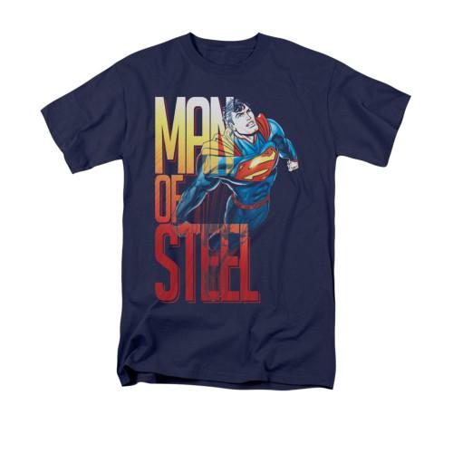 Image for Superman T-Shirt - Steel Flight