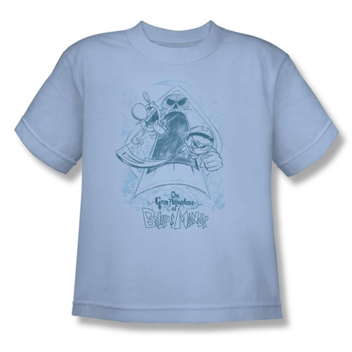Image for Grim Adventures of Billy and Mandy Sketched Youth T-Shirt