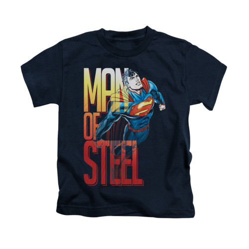 Image for Superman Kids T-Shirt - Steel Flight