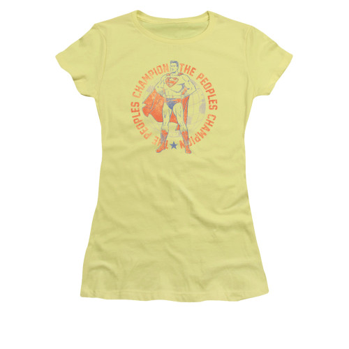 Image for Superman Girls T-Shirt - Peoples Champion
