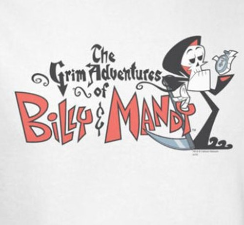 Grim Adventures of Billy and Mandy Logo T-Shirt