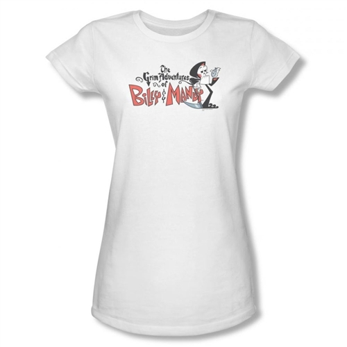 Grim Adventures of Billy and Mandy Logo Girls Shirt