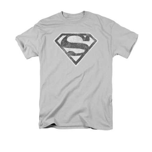 Image for Superman T-Shirt - Grey S