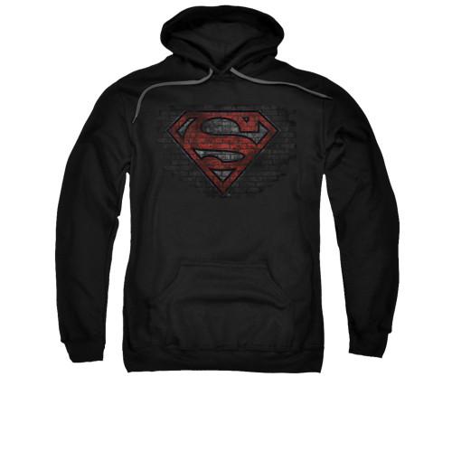 Image for Superman Hoodie - Brick S