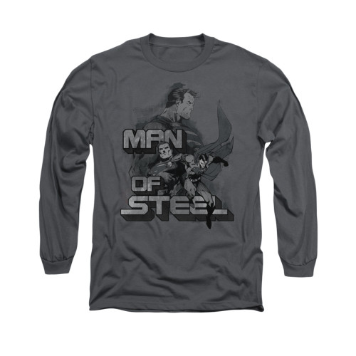 Image for Superman Long Sleeve Shirt - Steel Poses