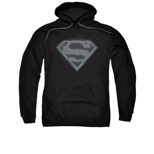 Image for Superman Hoodie - Checkerboard