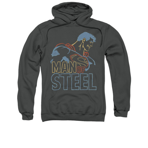 Image for Superman Hoodie - Colored Lines