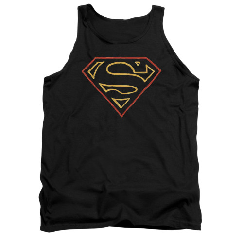 Image for Superman Tank Top - Colored Shield