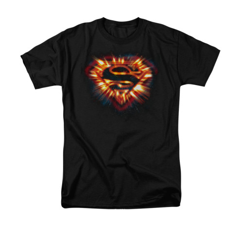 Image for Superman T-Shirt - Space Burst Shield