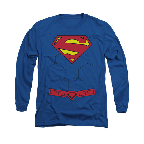 Image for Superman Long Sleeve Shirt - New 52 Torso
