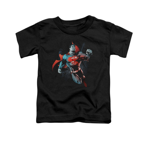 Image for Superman Toddler T-Shirt - Up In The Sky