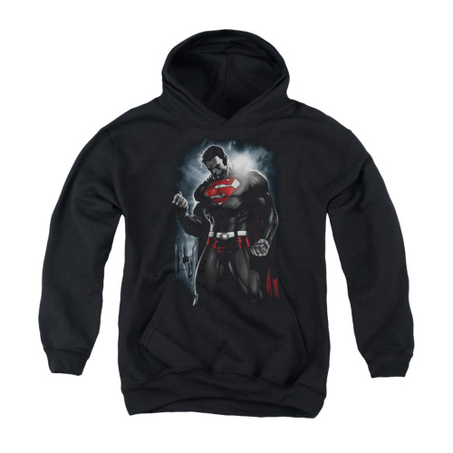 Image for Superman Youth Hoodie - Light Of The Sun