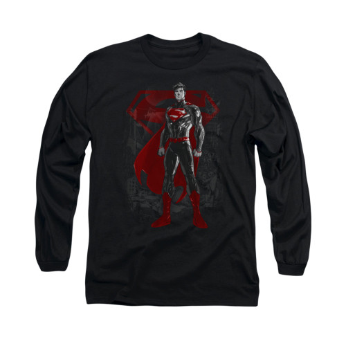Image for Superman Long Sleeve Shirt - Aftermath