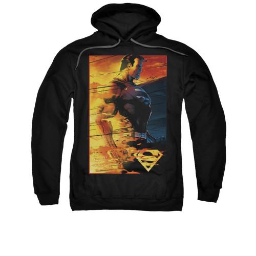 Image for Superman Hoodie - Fireproof
