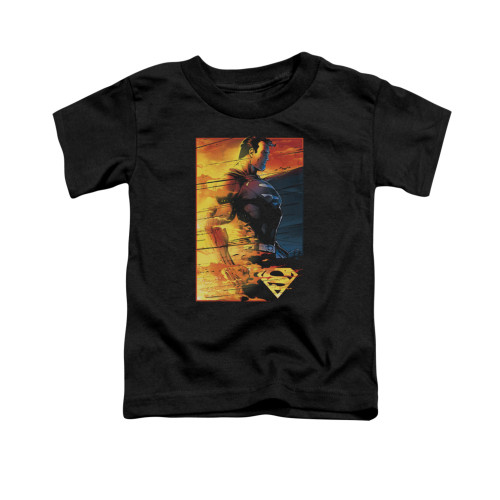 Image for Superman Toddler T-Shirt - Fireproof