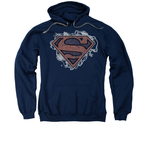 Image for Superman Hoodie - Storm Cloud Supes