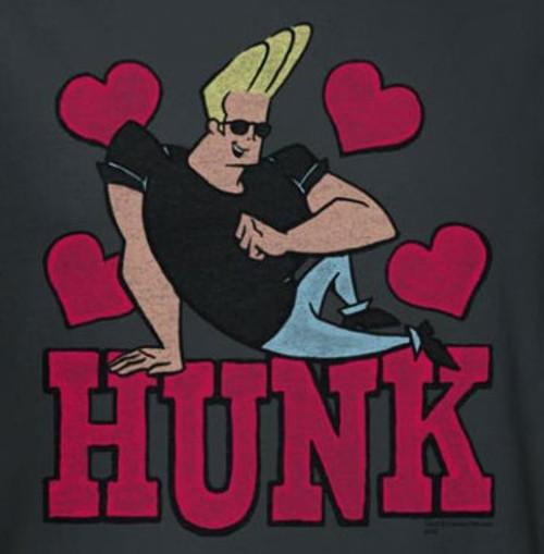 Image for Johnny Bravo Hunk T-Shirt