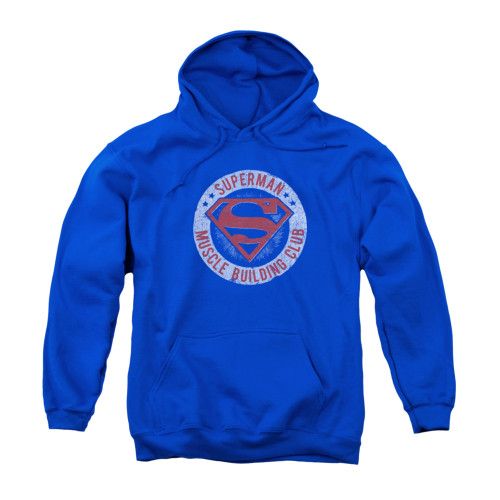 Image for Superman Youth Hoodie - Muscle Club