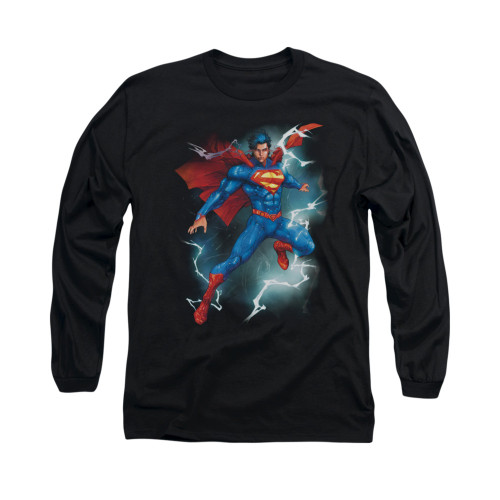 Image for Superman Long Sleeve Shirt - Annual #1 Cover
