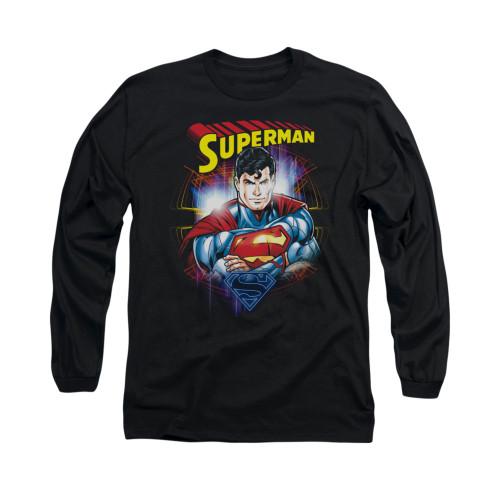Image for Superman Long Sleeve Shirt - Glam