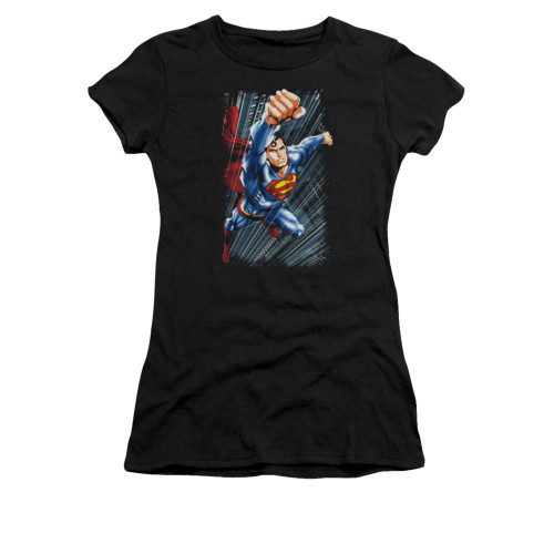 Image for Superman Girls T-Shirt - Faster Than