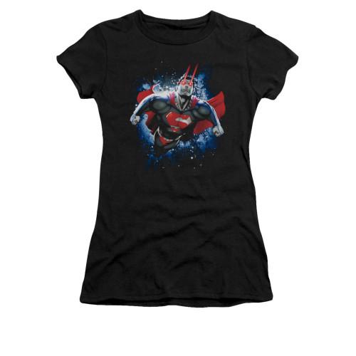 Image for Superman Girls T-Shirt - Stardust