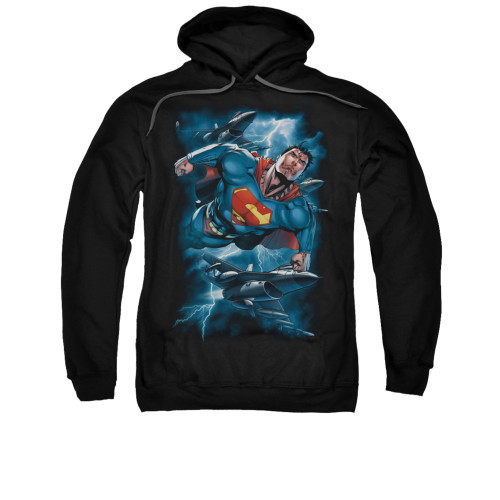 Image for Superman Hoodie - Stormy Flight