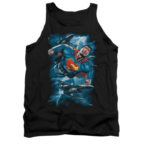 Image for Superman Tank Top - Stormy Flight