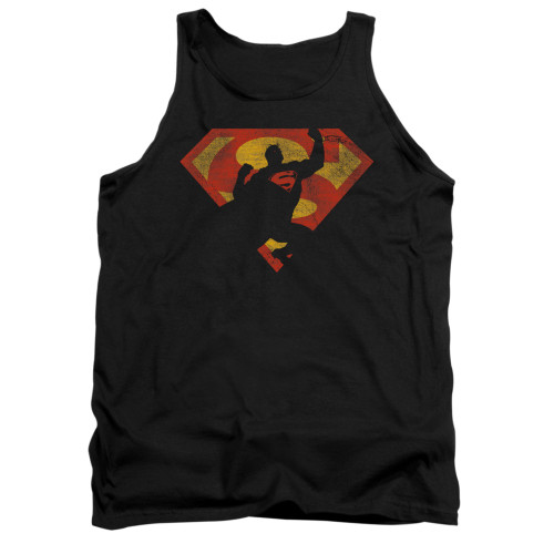 Image for Superman Tank Top - S Shield Knockout