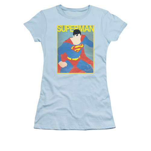 Image for Superman Girls T-Shirt - Simple Sm Poster