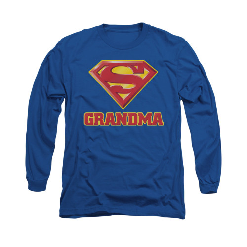 Image for Superman Long Sleeve Shirt - Super Grandma