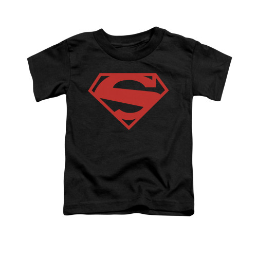 Image for Superman Toddler T-Shirt - 52 Red Block