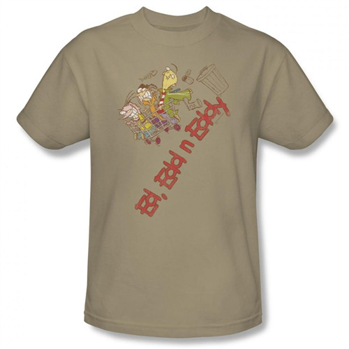 Image Closeup for Ed Edd n Eddy Downhill T-Shirt