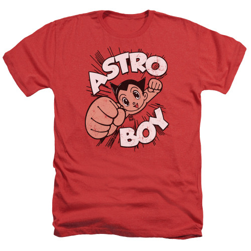 Image for Astro Boy Heather T-Shirt - Flying