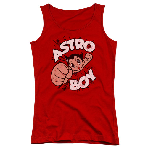 Image for Astro Boy Girls Tank Top - Flying