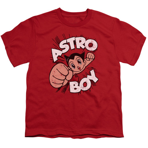 Image for Astro Boy Youth T-Shirt - Flying