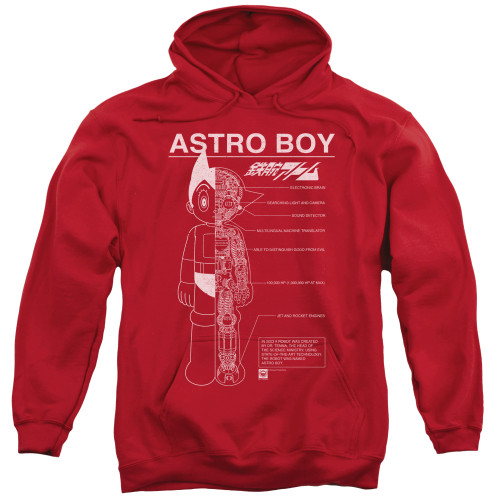 Image for Astro Boy Hoodie - Schematics
