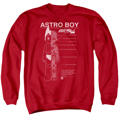 Image for Astro Boy Crewneck - Schematics