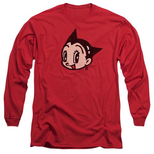 Image for Astro Boy Long Sleeve Shirt - Face