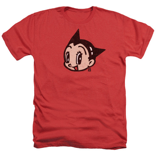 Image for Astro Boy Heather T-Shirt - Face
