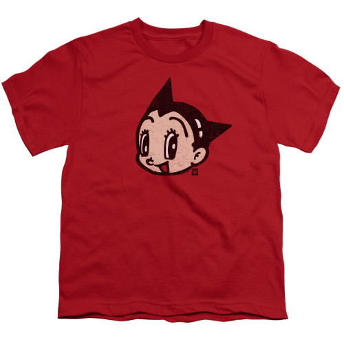 Image for Astro Boy Youth T-Shirt - Face