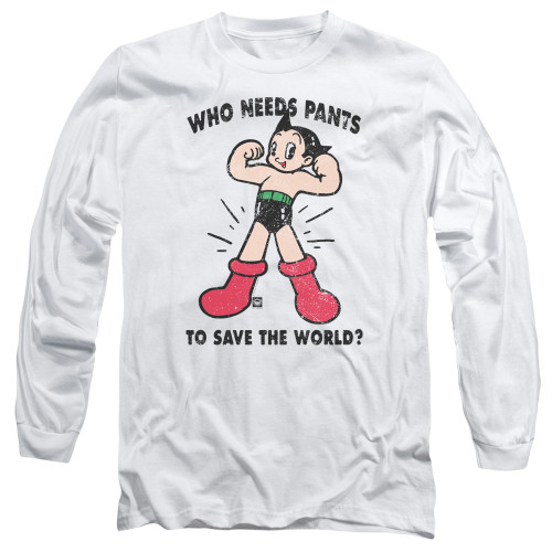 Image for Astro Boy Long Sleeve Shirt - Who Needs Parts