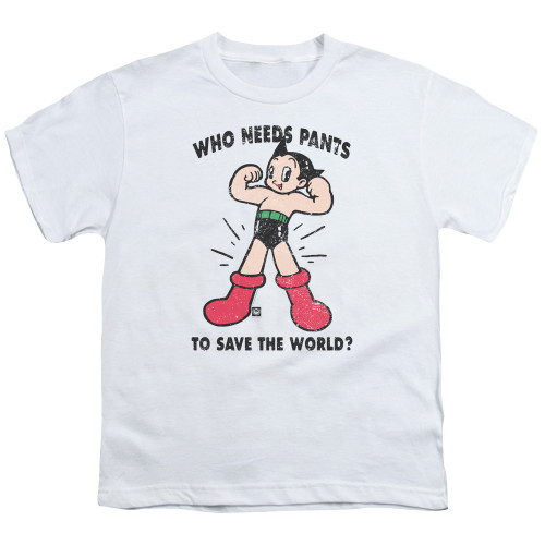 Image for Astro Boy Youth T-Shirt - Who Needs Parts