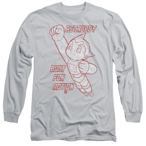 Image for Astro Boy Long Sleeve Shirt - Built For Action