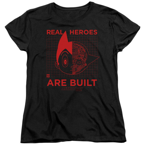 Image for Astro Boy Womans T-Shirt - Real Hero